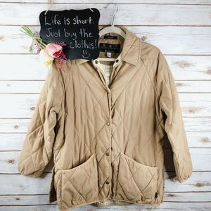 Barbour Jacket Size 14 Teesdale Microfib